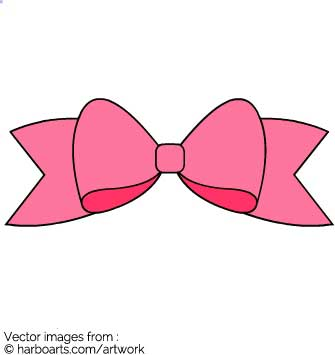 335x355 Download Pink Ribbon Bow