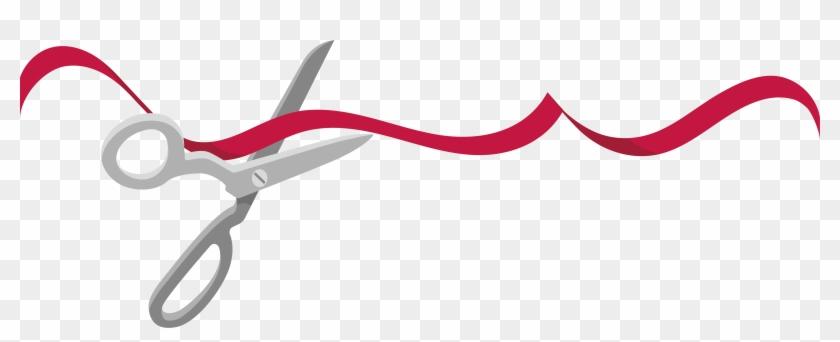 840x342 Red Ribbon Ribbon Cutting