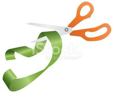 365x300 Ribbon Cutting Stock Vectors