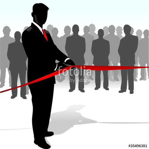 500x500 Ribbon Cutting Stock Image And Royalty Free Vector Files On