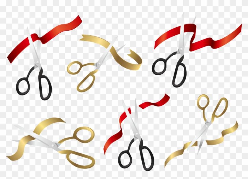 840x608 Scissors Opening Ceremony Ribbon