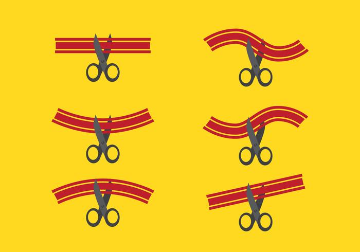 700x490 Vector Ribbon Cutting Free Vectors Ui Download