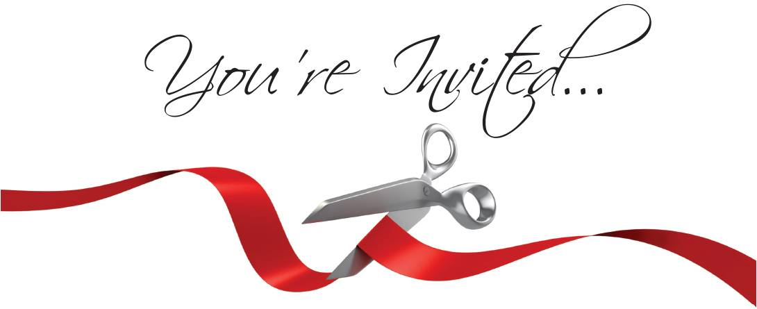 1090x445 Grand Opening And Ribbon Cutting Flyers Examples
