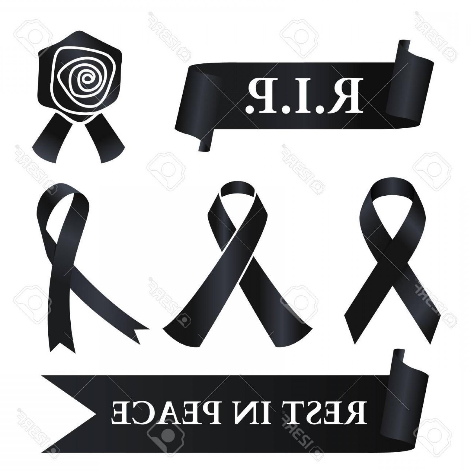 1560x1560 Black Ribbon Logo Vector Geekchicpro