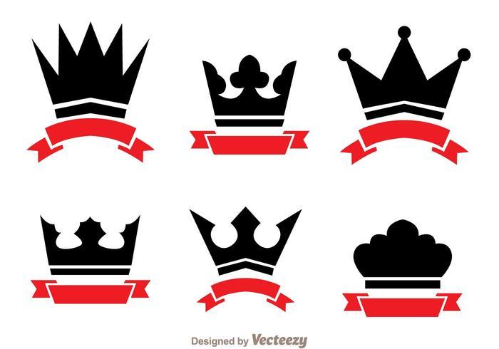 700x490 Crown And Ribbon Logo Vectors