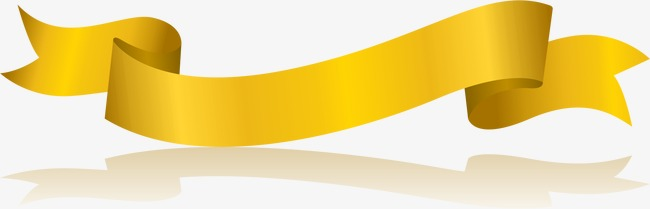 650x209 Golden Ribbon, Ribbon Vector, Vector, Ai Png And Vector For Free