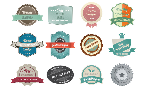 600x373 30 Free Ribbons And Labels For Designers Inspirationfeed