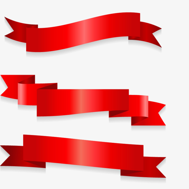 650x648 Red Ribbon Vector, Red, Ribbon, Colored Ribbon Png And Vector For