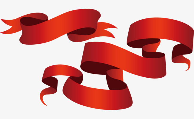 650x400 Promotions Red Ribbon Vector, Ribbon Vector, Red Ribbon Vector