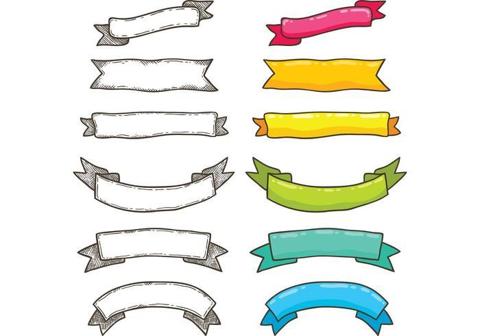 700x490 Free Bright Ribbon Vectors