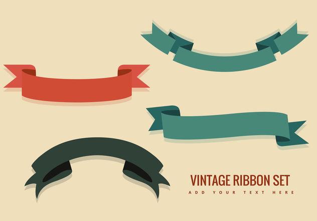 632x442 Vintage Ribbon Vectors Free Vector Download 199467 Cannypic