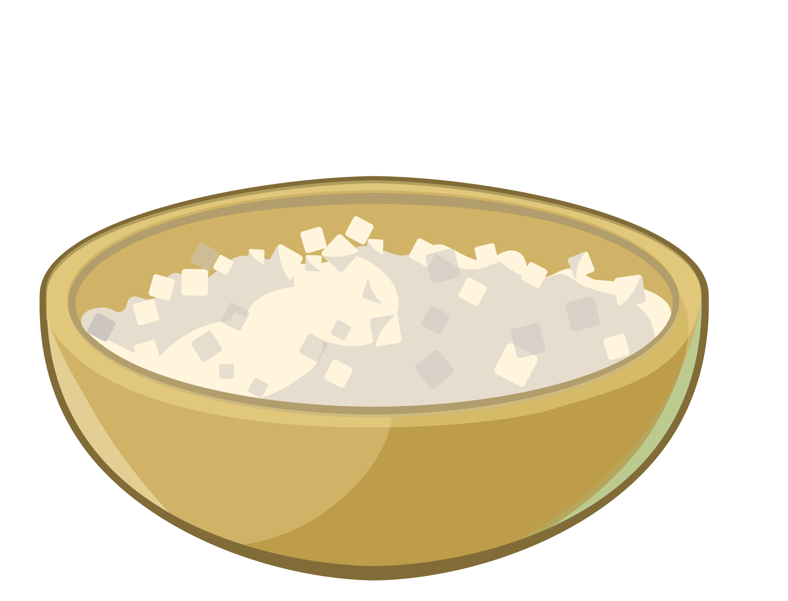 2529x1930 Rice Bowl Clip Art
