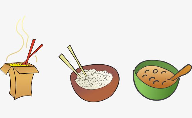 650x400 Vector Cartoon And Rice Bowl, Vector, Cartoon, Rice Png And Vector