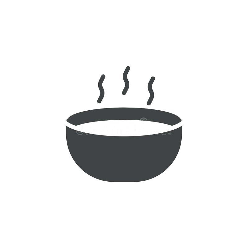 800x800 Bowl Icon Download Hot Soup Bowl Icon Vector Stock Vector