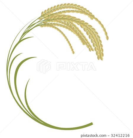 450x468 Ear Of Rice, Vector, Vectors