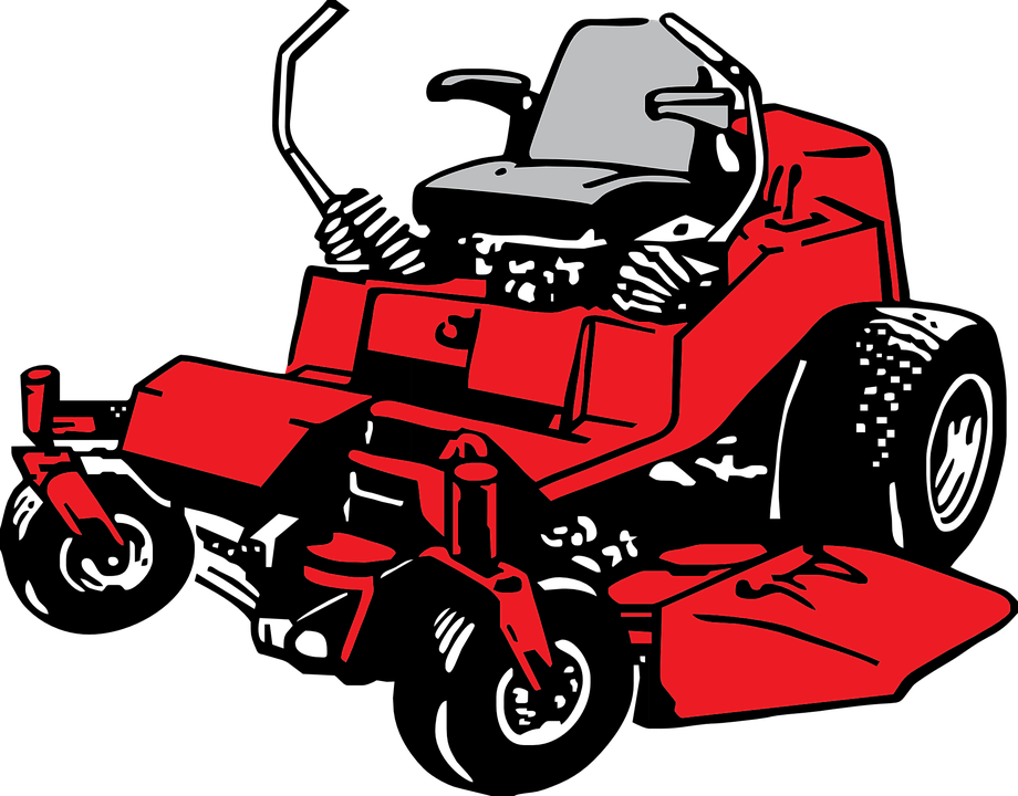 Riding Lawn Mower Vector