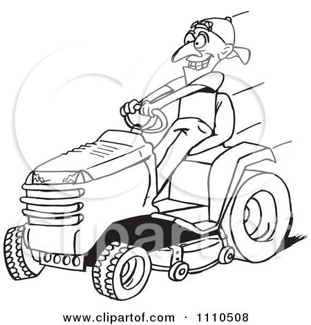 450x470 Riding Lawn Mower Clipart