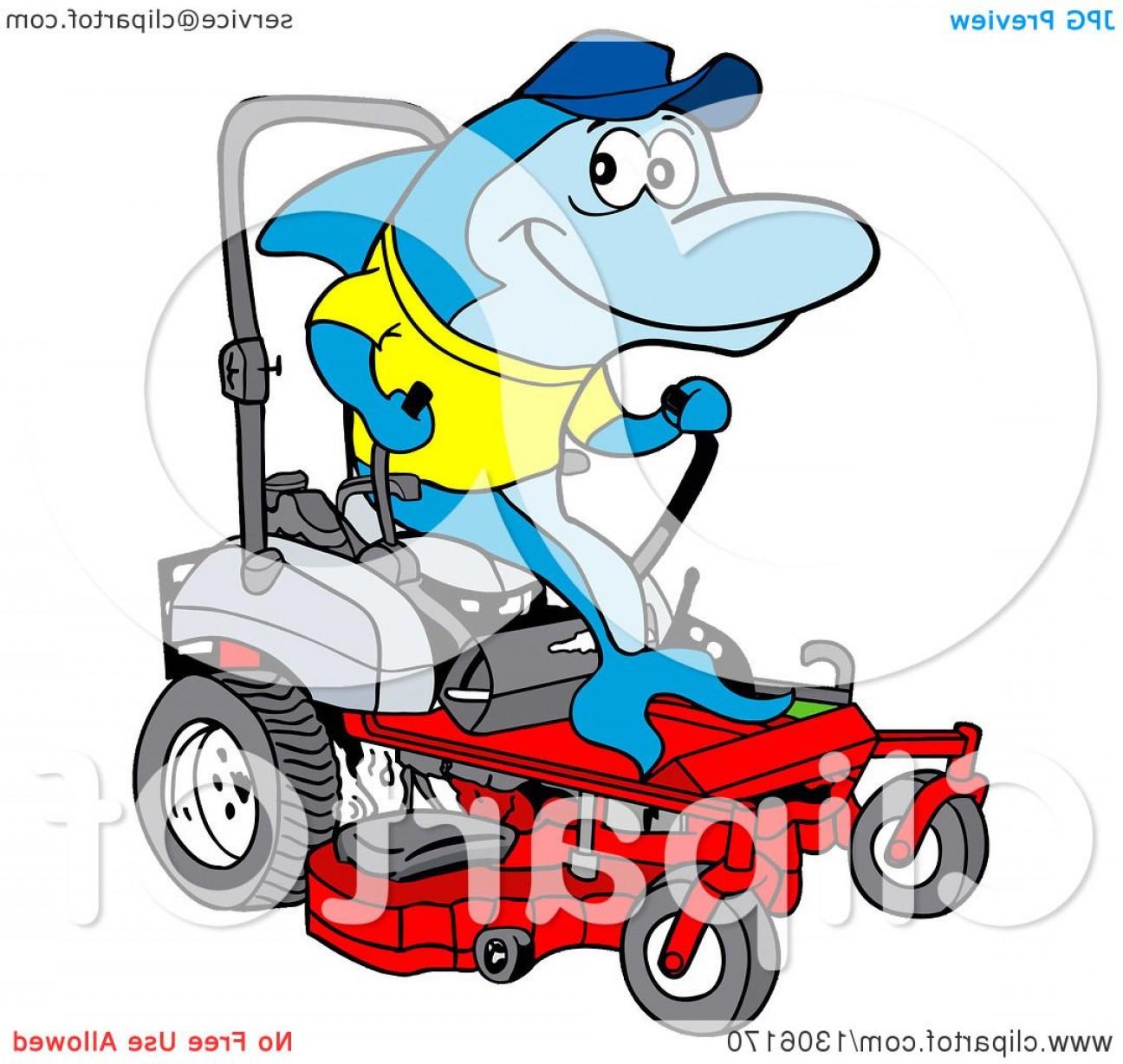 1296x1228 Riding Lawn Mower Vector Art Shopatcloth