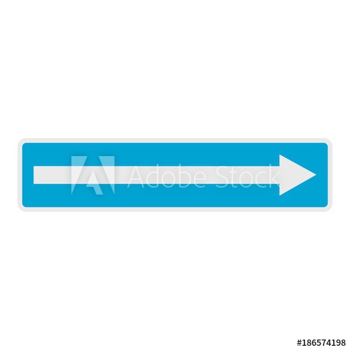 500x500 Right Arrow Icon. Flat Illustration Of Right Arrow Vector Icon For