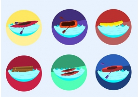 285x200 River Rafting Icon Free Vector Graphic Art Free Download (Found