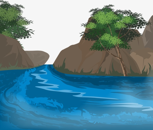 650x552 Vector River, River, Vector, Blue Png And Vector For Free Download