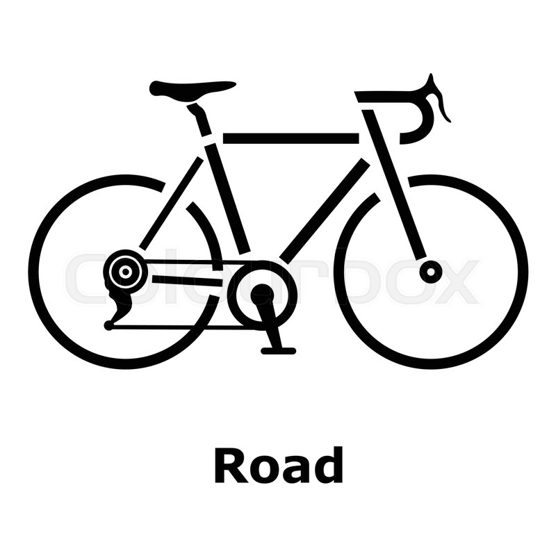 800x800 Road Bike Icon. Simple Illustration Of Road Bike Vector Icon For