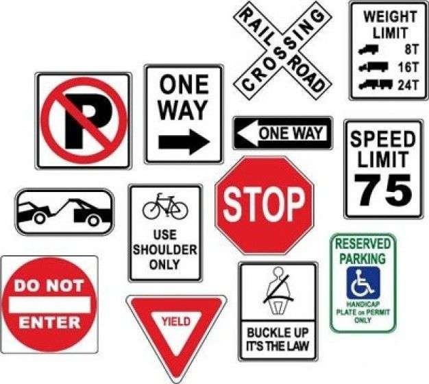 626x560 Warning Danger Road Signs 420086.jpg Road Trip