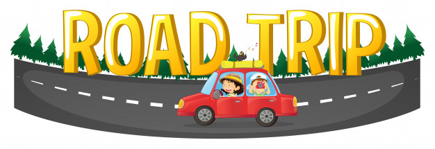 626x215 People Driving On The Road Trip Vector Free Download
