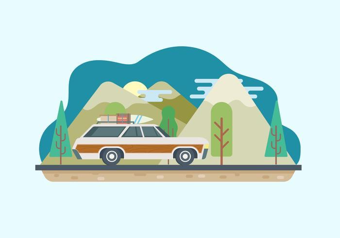 700x490 Road Trip Illustration