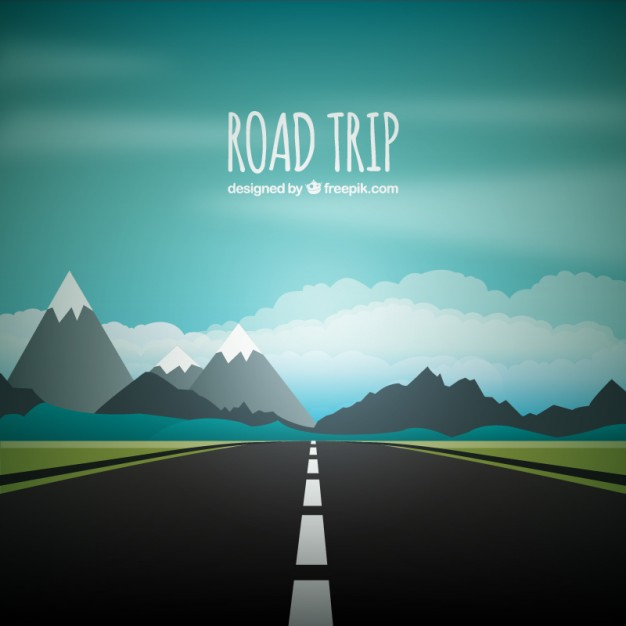 626x626 Road Trip Background Vector Free Download