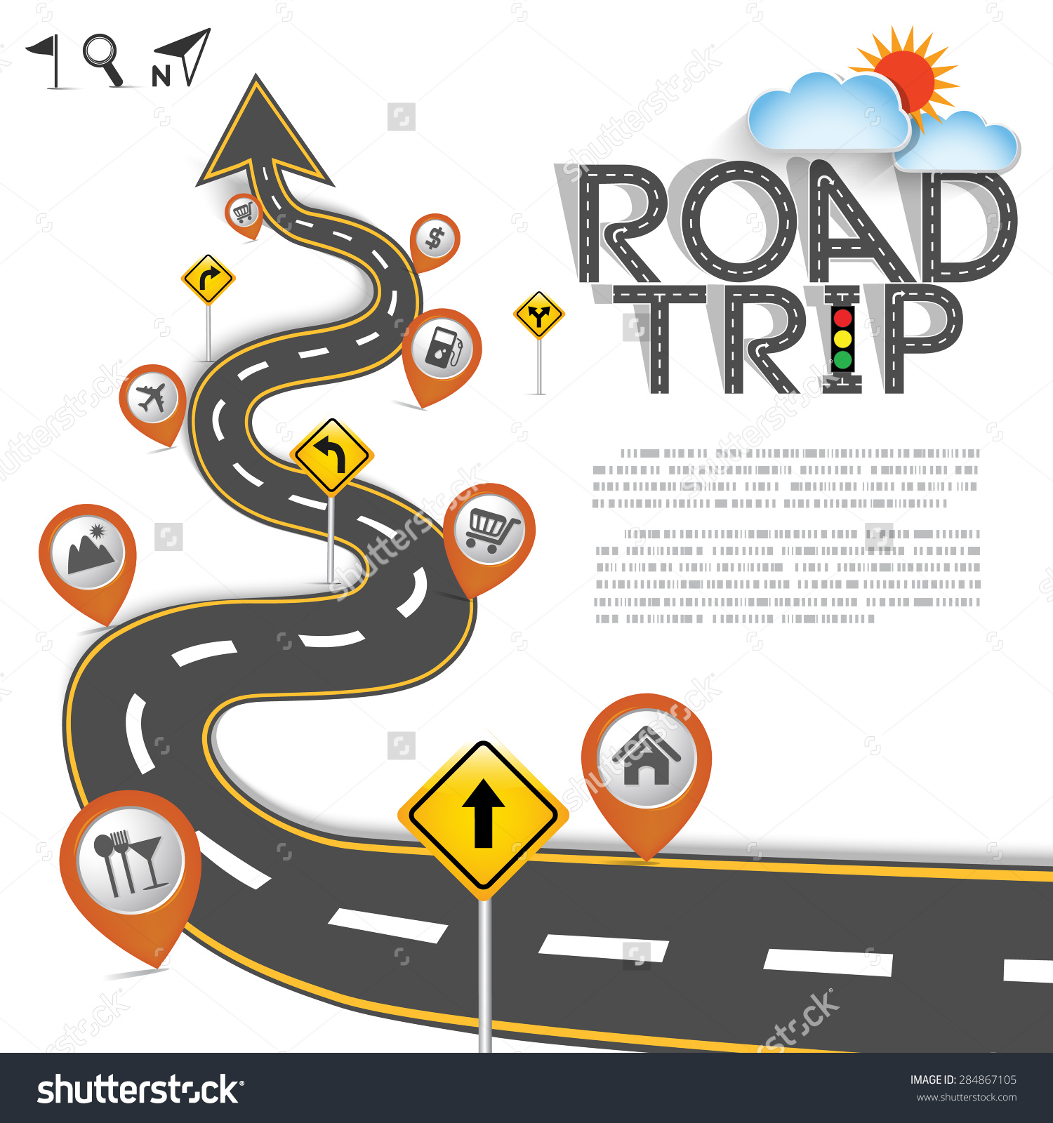 1500x1600 Road Trip Map Png Transparent Stock