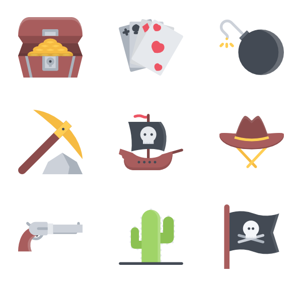 600x564 Robber Icons