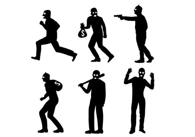 632x443 Robber Vectors Free Vector Download 388479 Cannypic