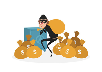 352x247 Vector Robber Free Vector Download 354151 Cannypic