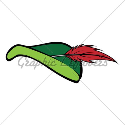 500x500 Robin Hood Hat Gl Stock Images