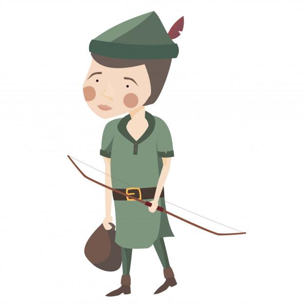 626x626 Robin Hood Vector Premium Download