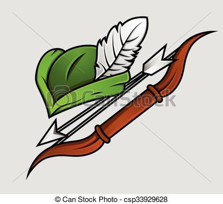 450x412 Robin Hood Cap N Archer Accessories. Robin Hood Cap And Archer