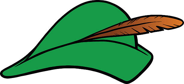 612x279 Collection Of Robin Hood Hat Clipart High Quality, Free
