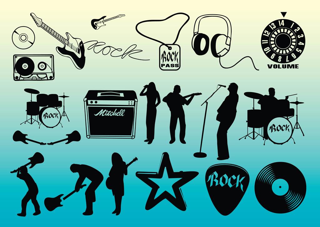 1024x727 Free Rock Music Vectors Vector Art Amp Graphics