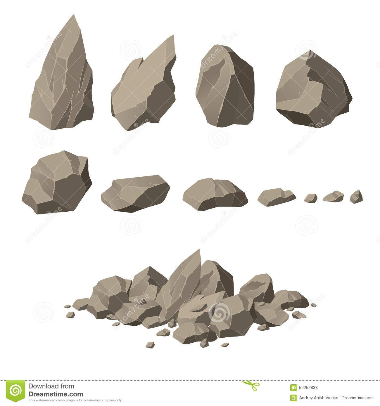 1300x1390 Rocks... Shapes, Planes, Building Together Light Areas And Shadows