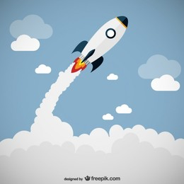 260x260 Download Cute Rocket Ship Vector Clipart Rocket Launch