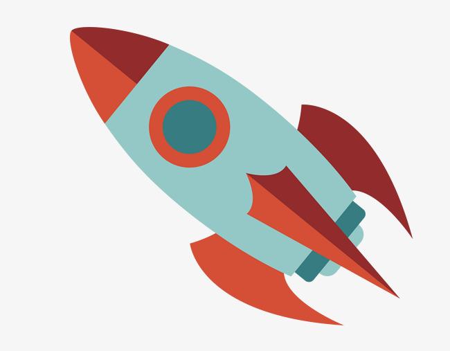 650x507 Vector Material Cartoon Rocket, Cartoon Vector, Rocket Vector