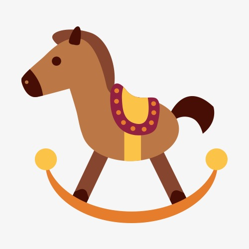 500x500 Rocking Horse, Horse Vector, Horse Clipart, Trojans Png And Vector