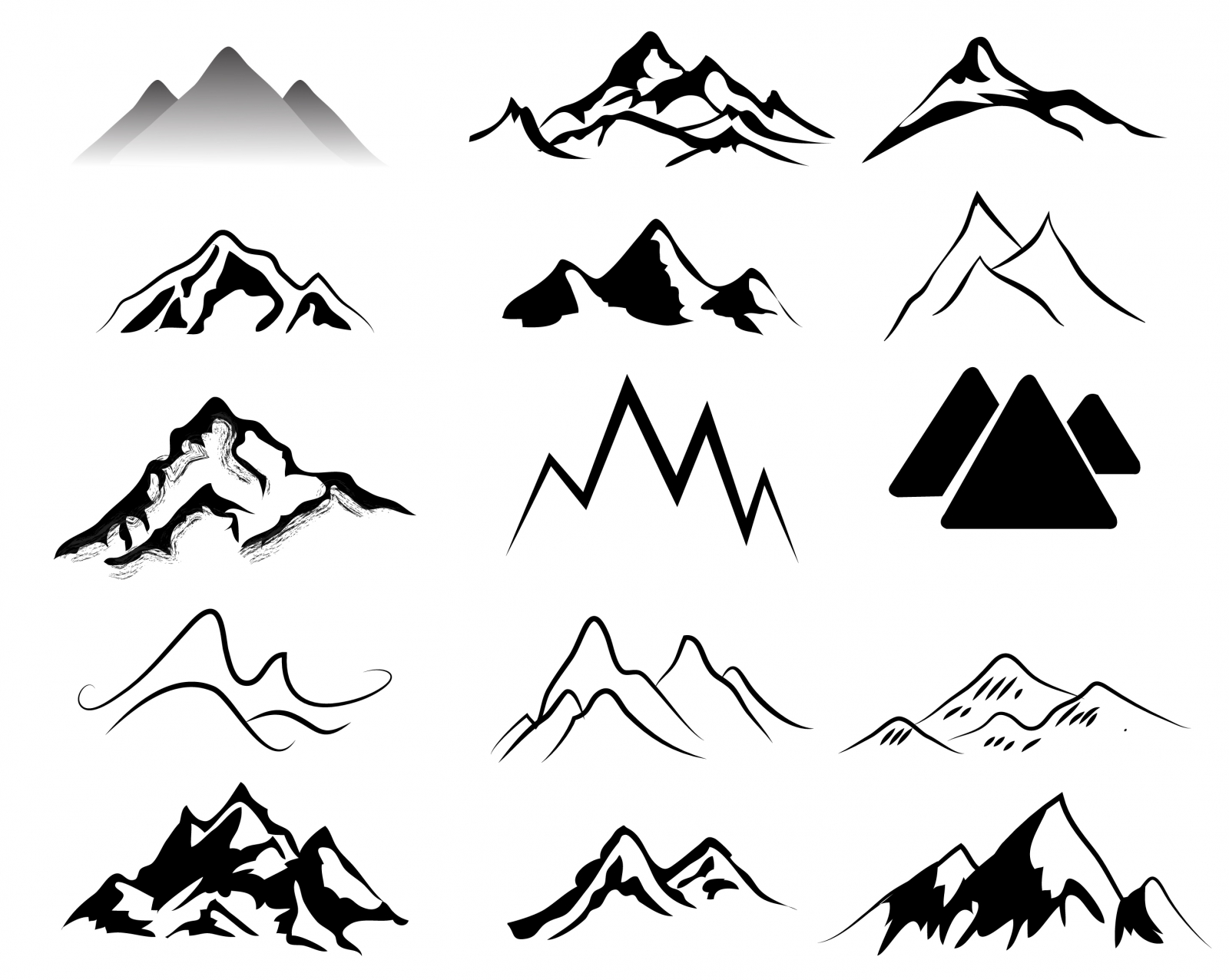 1600x1276 Mountain Ridge Clipart Rocky Mountain 3726118