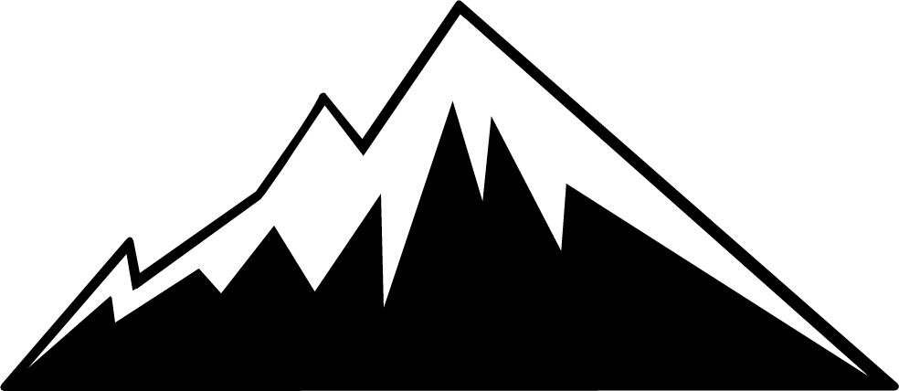 984x428 Mountain Ridge Clipart Rocky Mountain
