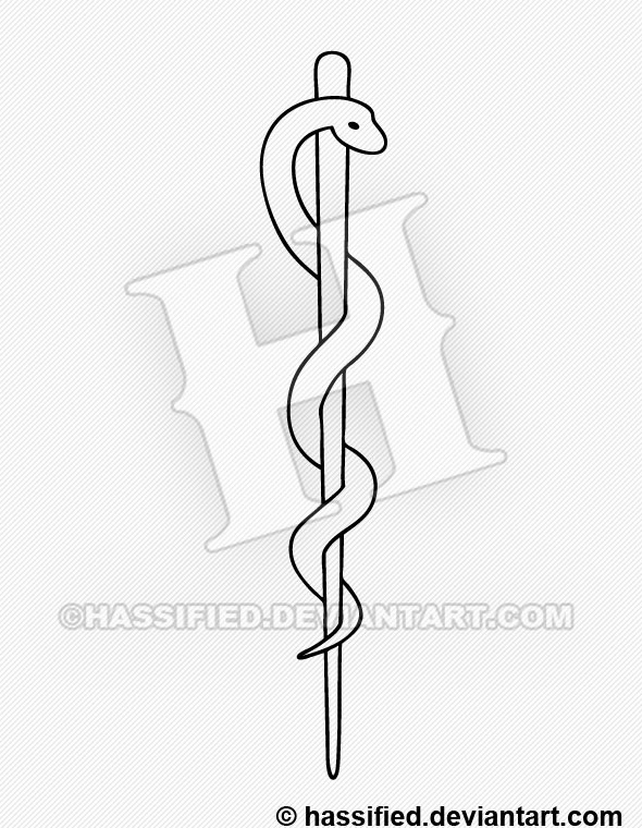 590x760 Rod Of Asclepius