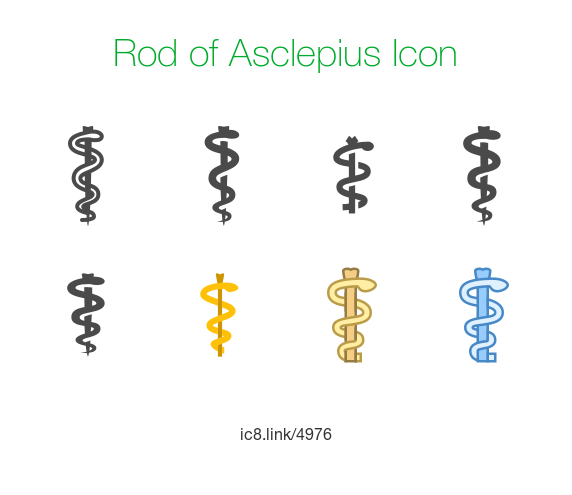572x495 Rod Of Asclepius Icon