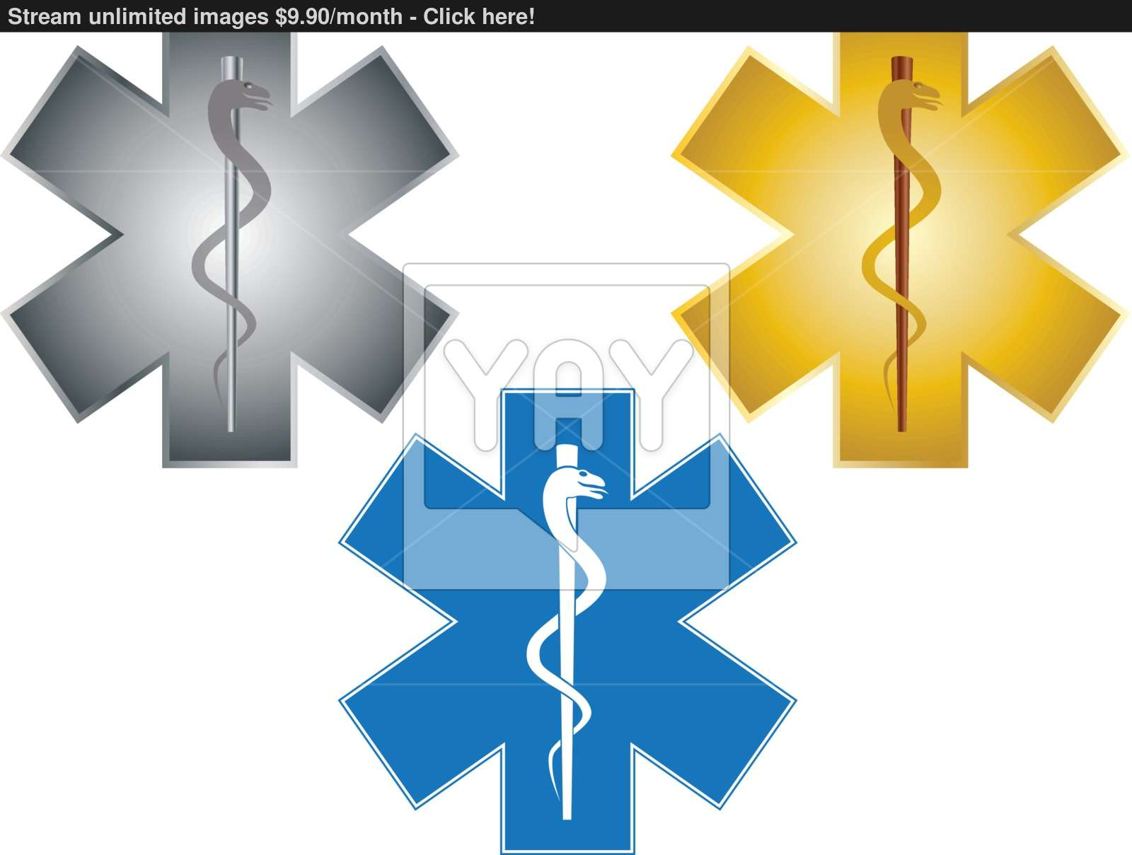 1600x1209 Star Of Life Rod Of Asclepius Illustration Vector