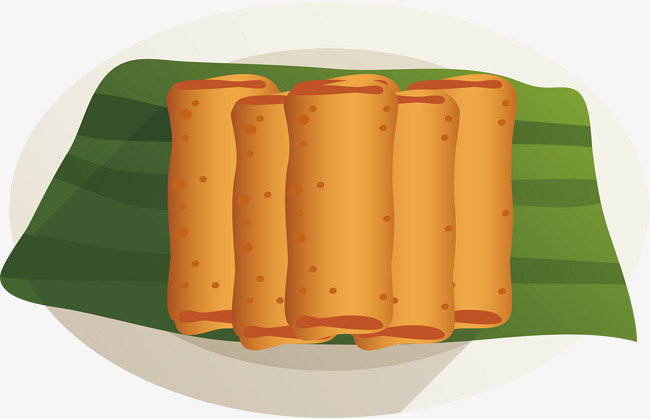 650x419 Hand Painted Spring Roll Vector, Hand Vector, Spring Vector, Hand