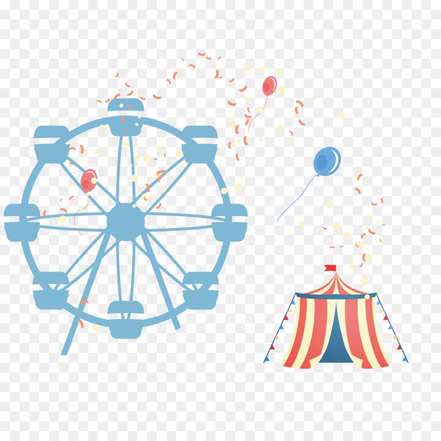 900x900 Amusement Park Euclidean Vector Roller Coaster Ferris Wheel